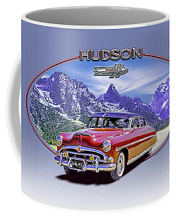 Hudson Hornet Travels The Tetons Coffee Mug