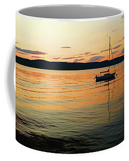 Hudson River From Irvington In Westchester County Coffee Mug