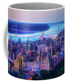 Hudson River Sunset Coffee Mug