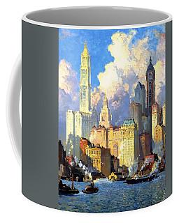hudson river waterfront - N Y C Coffee Mug