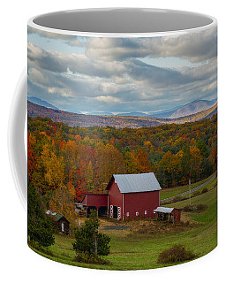 Hudson Valley Ny Fall Colors Coffee Mug