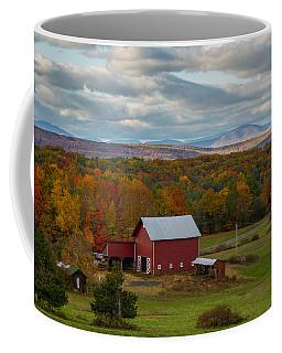 Hudson Valley Ny Fall Colors Coffee Mug