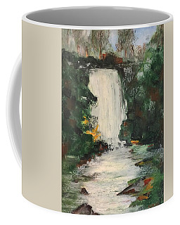 Coffee Mug featuring the pastel Huerquehue  by Norma Duch