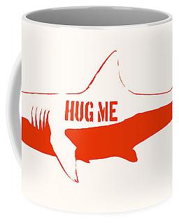 Hug Me Shark Coffee Mug