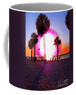 Huge Sun Pine Island Sunset  Coffee Mug