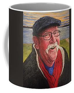 Coffee Mug featuring the painting Hugh Hanson Davidson by Tom Roderick