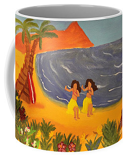 Hula Girls Coffee Mug