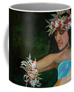 Hula Hands Coffee Mug by Jenny Lee