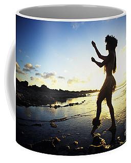Hula Silhouette Coffee Mug