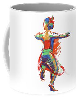 Hula Wahine Ikaika Coffee Mug