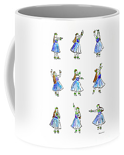 Hula X 9 Coffee Mug