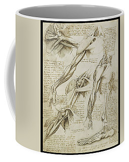 Human Arm Study Coffee Mug by James Christopher Hill