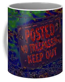 Human Barriers To The Subsconscious Coffee Mug by Gina O'Brien