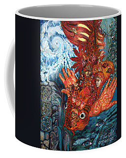Humanity Fish Coffee Mug