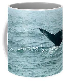 Humback Patterned Flukes Coffee Mug