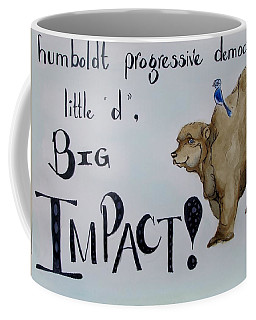 Humboldt Progressive Democrats Coffee Mug