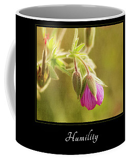 Coffee Mug featuring the photograph Humility 3 by Mary Jo Allen