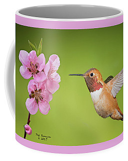 Hummer And Apple Blossom Coffee Mug