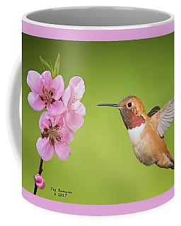 Hummer And Apple Blossom Coffee Mug