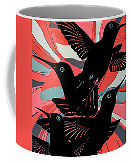 Hummers Abstract Coffee Mug