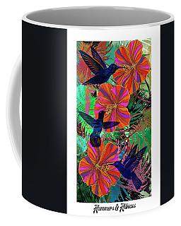 Hummers And Hibicus 24x16 Coffee Mug
