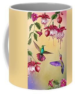 Humming Birds And Fuchsia-jp2784 Coffee Mug