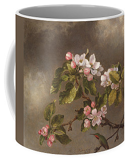 Hummingbird And Apple Blossoms Coffee Mug