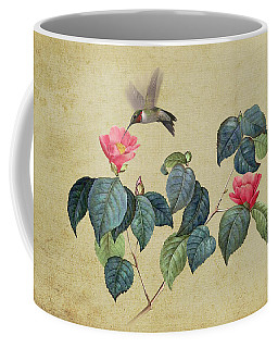 Hummingbird And Japanese Camillea Coffee Mug