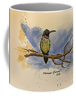 Hummingbird At Rest Coffee Mug