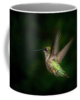 Hummingbird B Coffee Mug