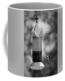 Hummingbird - Bw Coffee Mug
