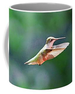 Hummingbird Flying Coffee Mug