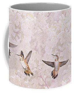 Hummingbird Flying Sequence II Coffee Mug
