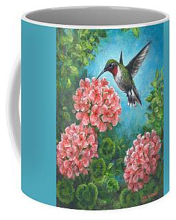 Hummingbird Heaven Coffee Mug by Kim Lockman