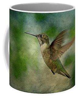Hummingbird In Flight II Coffee Mug