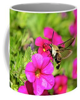 Coffee Mug featuring the photograph Hummingbird Moth by Christina Rollo