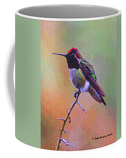 Hummingbird On A Stick Coffee Mug