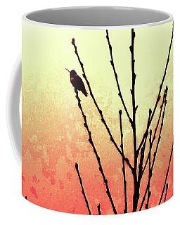 Sunset Peach Tree Coffee Mug