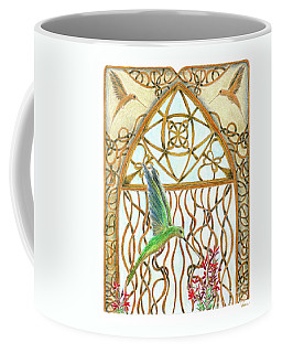 Hummingbird Sanctuary Coffee Mug