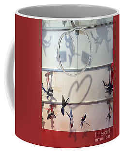 Hummingbird Shadows Coffee Mug