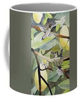 Hummingbirds And Lemons Coffee Mug