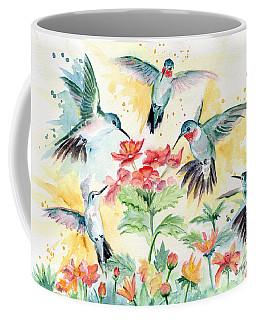 Hummingbirds Party Coffee Mug