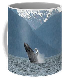 Humpback Breaching Alaska Coffee Mug