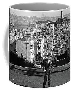 Humphrey Bogart Film Noir Dark Passage Telegraph Hill And Coit Tower San Francisco 1947 Coffee Mug