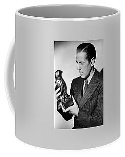 Humphrey Bogart Holding Falcon The Maltese Falcon 1941  Coffee Mug