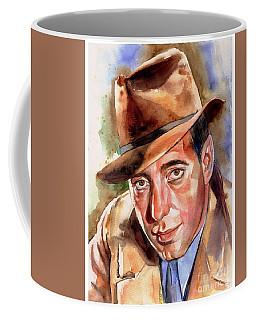 Humphrey Bogart Portrait Coffee Mug