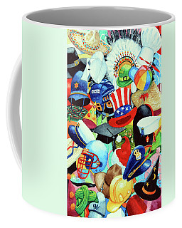 Hundreds Of Hats Coffee Mug