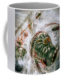 Coffee Mug featuring the photograph Hung Up And Strung Out by Wayne Sherriff