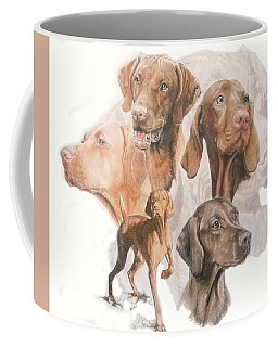 Hungarian Vizsla Medley Coffee Mug