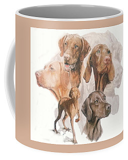 Hungarian Vizsla W/ghost Coffee Mug
